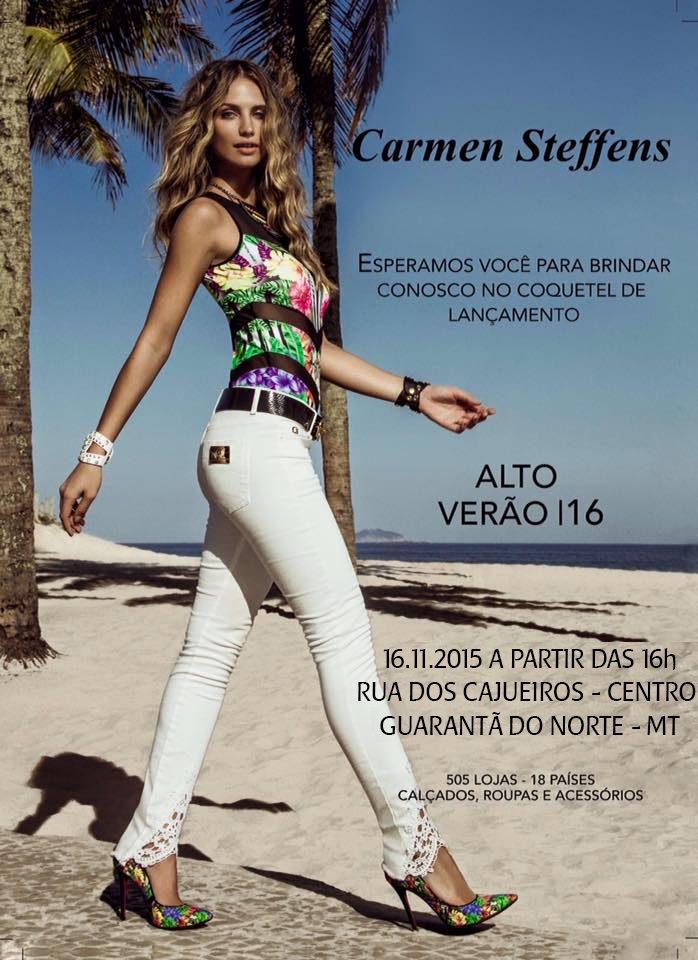 2866e9a3325a Coquetel de lançamento da nova coleção Alto Verão 2016 – Carmen Steffens